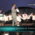 Prophet Uebert Angel Singing In Tongues Casting Out demons