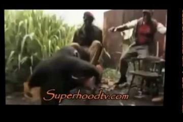 Monkey Sprays AK 47 at Militant Soldiers