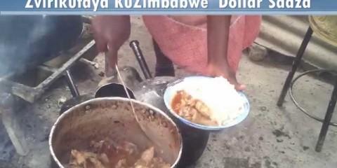 ZVIRIKUFAYA kuZimbabawe Sadza $1
