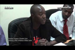 Zimbabwe Congress of Students Union attacks Didymus Mutasa