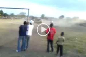 Dangerous Kombi Racing in Zimbabwe
