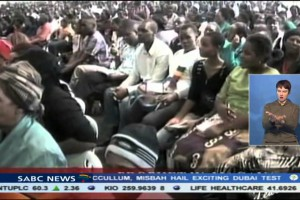 11 die in Zimbabwe stampede (SABC report)