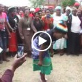 Granny dances to Tocky Vibes at Grace Mugabe rally (Video)