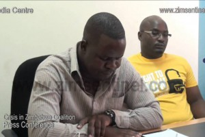 Crisis in Zimbabwe Coalition letting go of its Director (Zim Sentinel Video)