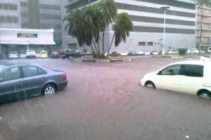 Floods hit Zimbabwe Capital – Harare (Video)
