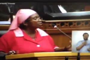 Watch: 'The president of the ANC is the greatest thief in the world. I'm not going to withdraw'