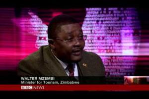 Zimbabwe Tourism Minister Walter Mzembi on BBC HARDtalk Part 1