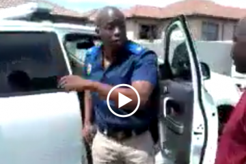Man challenges police officer to shoot him