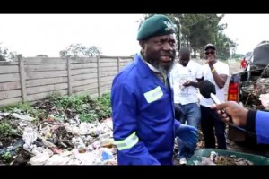 Chinotimba clean up campaign in Mbare