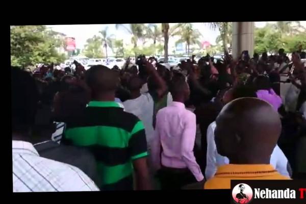 """""""Mugabe Must Go"""" demo in Zambia"""