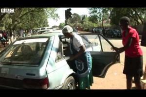 Zimbabwe's 'boot-sellers' grow as they shun shop rents