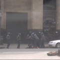 Video: Riot police beating up Sydney Chisi during anti-xenophobia demo