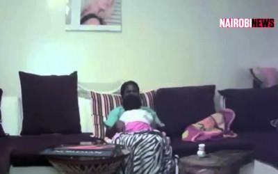 Housemaid caught on camera breastfeeding employer's baby