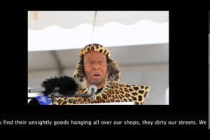 Listen to exactly what King Goodwill Zwelithini said about foreigners