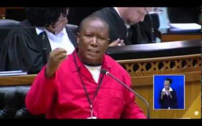 Xenophobic attacks: Malema lashes out at Zuma (video)