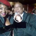 Chiyangwa at Jah Prayzah album launch where he gave him two residential stands
