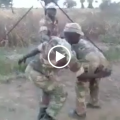 Zim soldiers dancing to museve