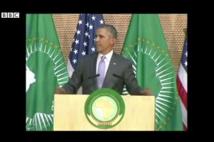 VIDEO – Obama to African leaders 'Nobody should be president for life'