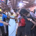 Watch Prophet Magaya perfoming miracles to pregnant women in church