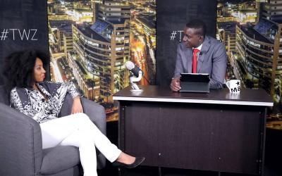 Zororo Makamba speaks to Amara Brown