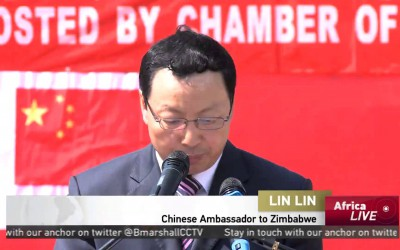 Chinese doctors offer free medical treatment to patients in Harare