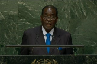 "VIDEO – Mugabe ""We are not Gays"" Full Speech"