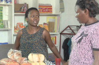 The blind customer….. Kansiime Anne