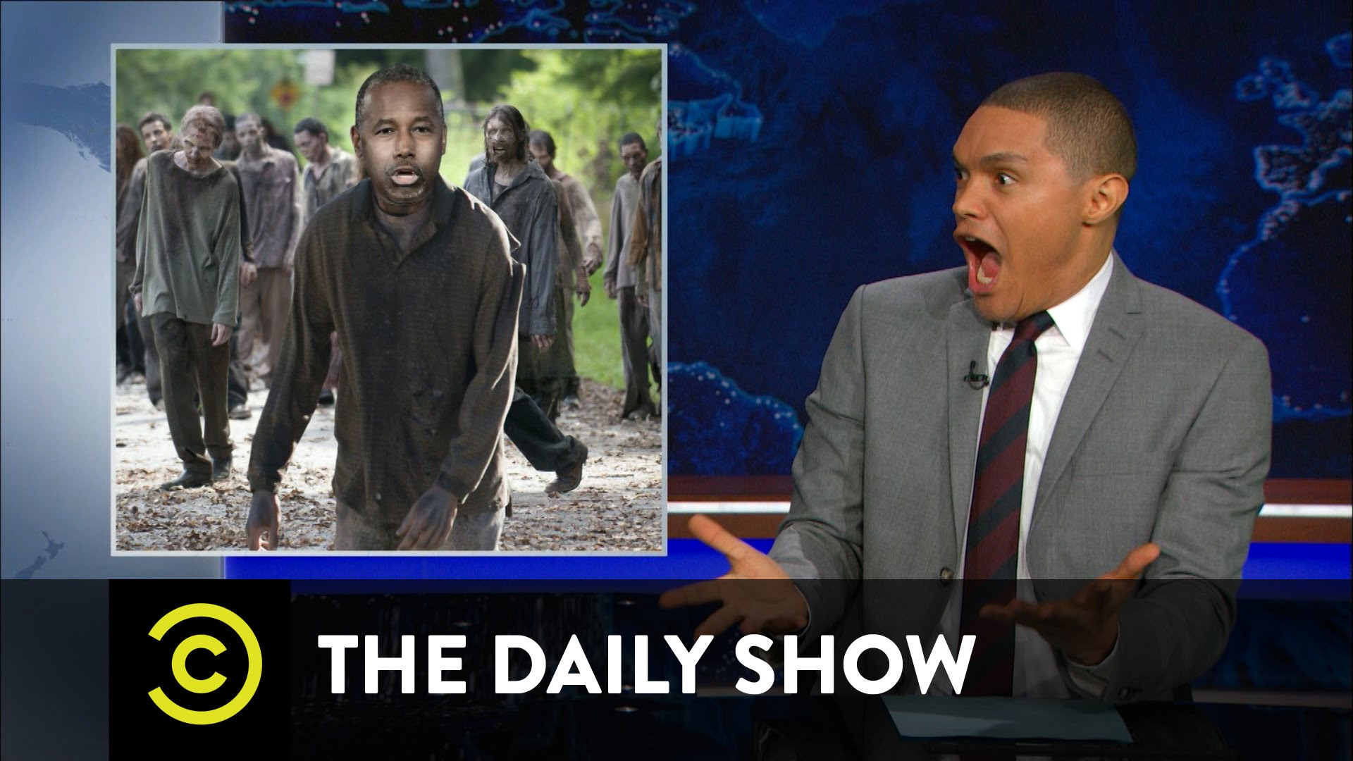 The Daily Show with Trevor Noah – Ben Carson Blames the Victims