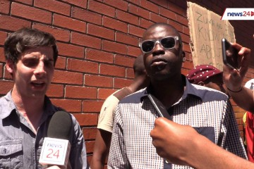 'We won't stop until you listen to us' – released SA student