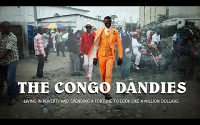 The Congo Dandies : Living in poverty and spending a fortune on designer clothes