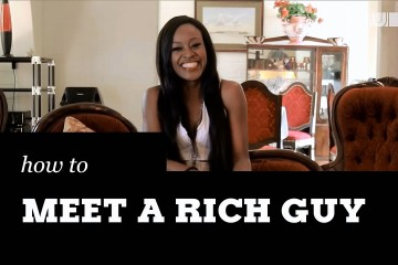 how to meet millionaire women