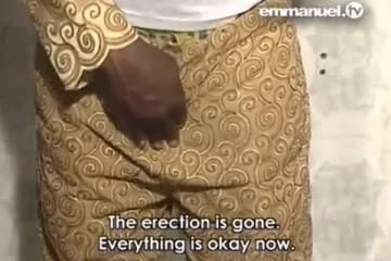 TB Joshua heals a man with permanent erection – Video
