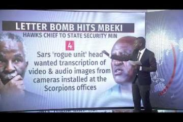 Letter bomb hits Mbeki