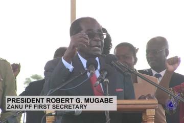 Video of Mugabe rally in Bindura – Part 1