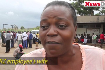 Unpaid NRZ workers protest at company offices (Video)