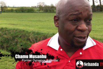 Chamu Musanhu at Japhet Mparutsa book launch