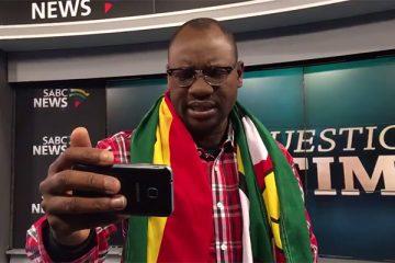 Evan Mawarire on SABC