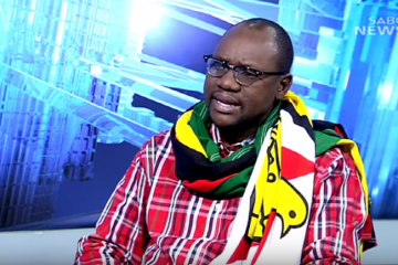 Evan Mawarire on SABC Question Time