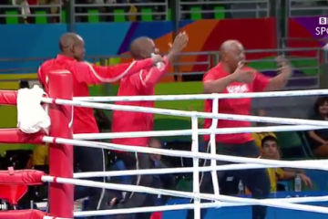 The Kenyans sure know how to celebrate a boxing victory!