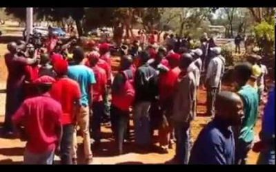 Mugabe must go – NERA protesters chanting at Harare Magistrates court