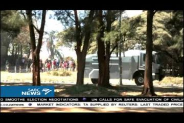 Zimbabwe police disrupted protest in Harare despite permission by the court (Video)