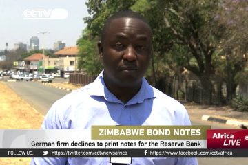 German firm declines to print notes for Zimbabwe Reserve Bank – Video