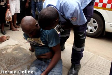 Man beaten up and left for dead in Harare CBD
