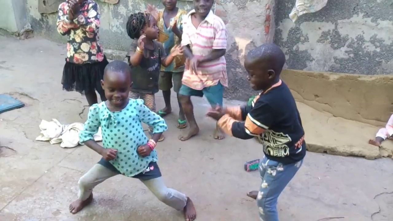 "Happy African kids dancing to ""Let's Go"" by Eddy Kenzo ..."
