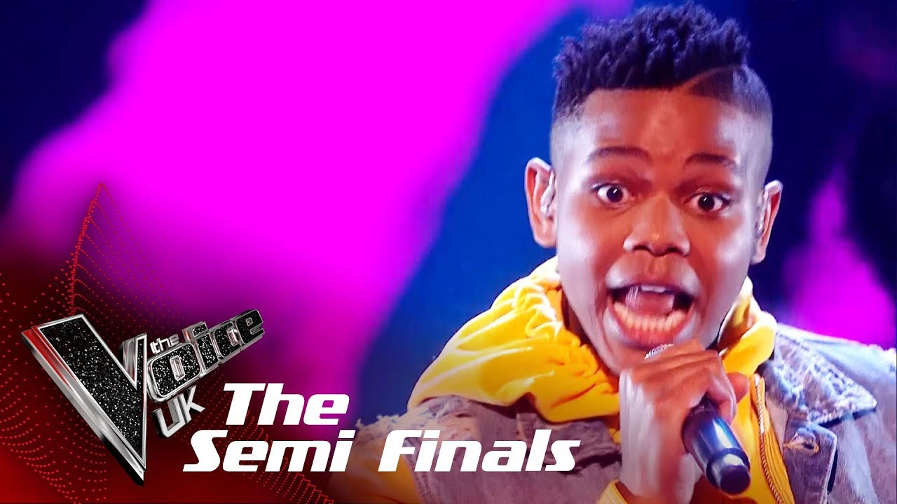 WATCH: Donel Mangena Performs 'Happy' In The Semifinals Of