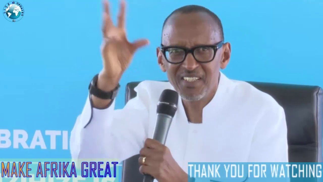 Paul Kagame Speaks The Truth About ZIMBABWE